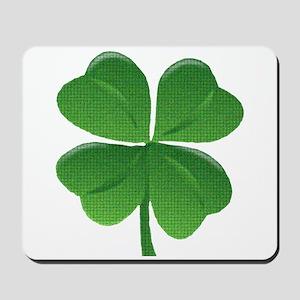 St Patrick Shamrock T Mousepad