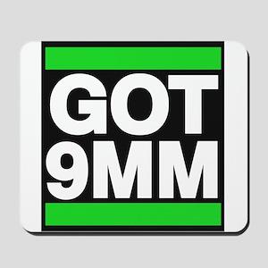 got 9mm green Mousepad