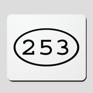 253 Oval Mousepad