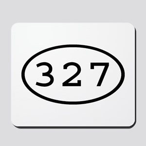 327 Oval Mousepad