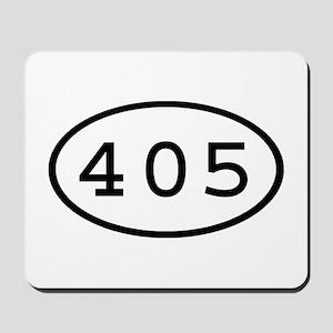 405 Oval Mousepad