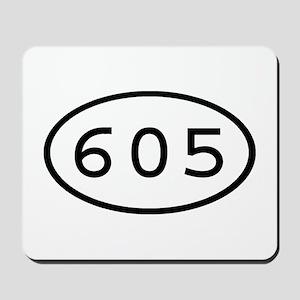 605 Oval Mousepad
