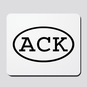 ACK Oval Mousepad