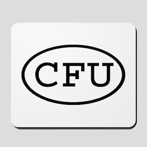CFU Oval Mousepad