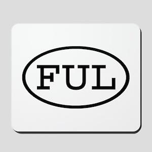 FUL Oval Mousepad