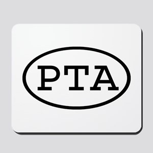 PTA Oval Mousepad