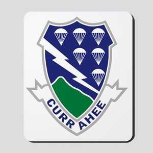 Army-506th-Infantry-Currahee-After-1951- Mousepad