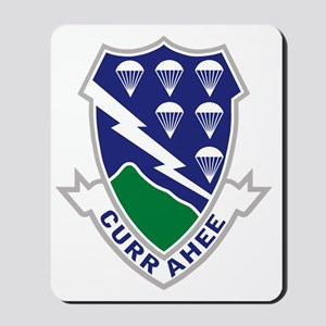 Army-506th-Infantry-Currahee Mousepad