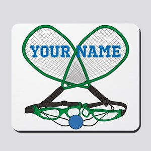 Personalized Racquetball Mousepad