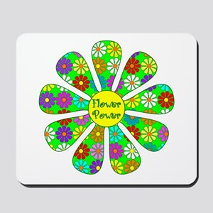 Cool Flower Power Mousepad