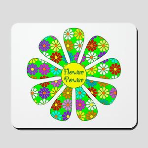 Cool Flower Power Mousepad