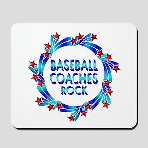 Baseball Coaches Rock Mousepad