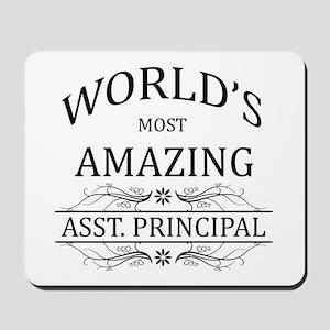 World's Most Amazing Asst. Principal Mousepad