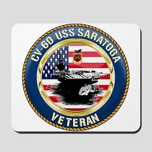 CV-60 USS Saratoga Mousepad
