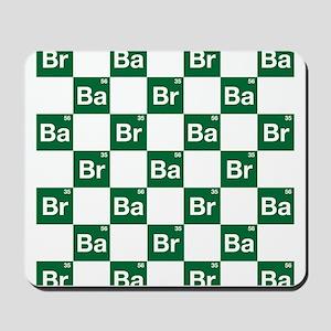 Breaking Bad Logo Pattern Mousepad