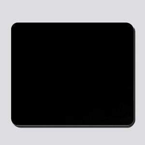 Solid Black Color Mousepad