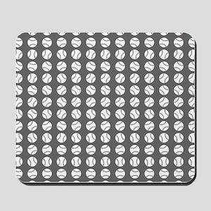 Sports: Baseball Ball Pattern Mousepad
