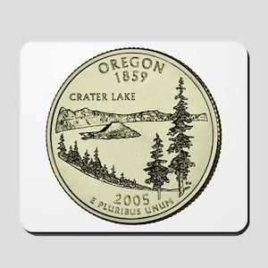Oregon Quarter 2005 Basic Mousepad