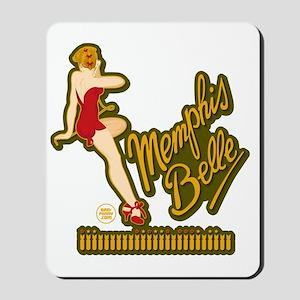 Memphis Belle Red Nose Art Mousepad
