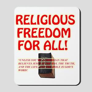 RELIGIOUSTOL Mousepad