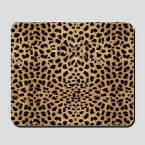 Cheetah Animal Print copy Mousepad