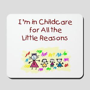 Little Reasons Mousepad