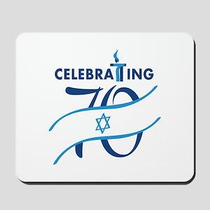 Celebrating 70! Mousepad