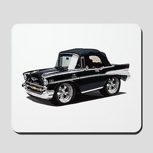 BabyAmericanMuscleCar_57BelR_Black Mousepad