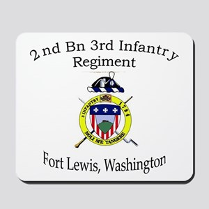 2nd Bn 3rd Infantry Regiment Mousepad