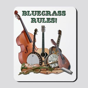 DAmbrosioArts_BluegrassRules_sm Mousepad
