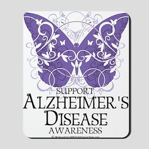 Alzheimers-Butterfly Mousepad