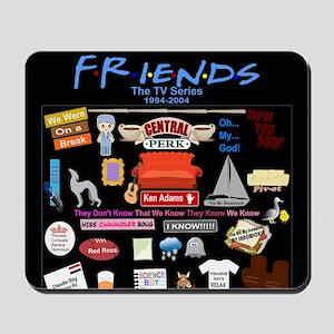 Friends TV Show Collage Mousepad