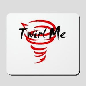 Twirl Me Mousepad