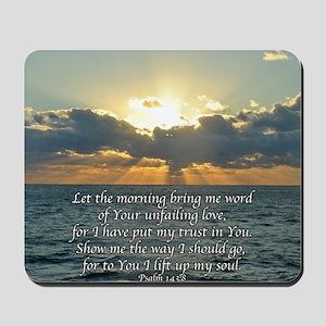 psalm143sq Mousepad