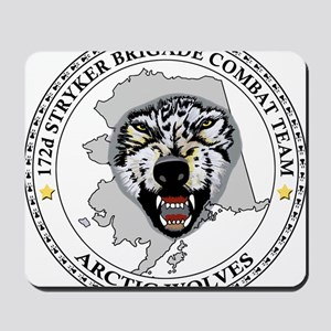 Army-172nd-Stryker-Bde-Arctic-Wolves-Pat Mousepad