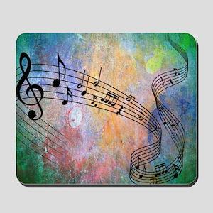 Abstract Music Mousepad