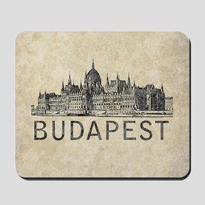 Vintage Budapest Mousepad