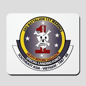 SSI - 3rd Battalion - 1st Marines USMC Mousepad