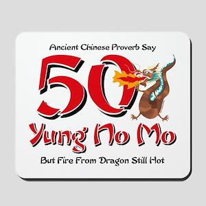 Yung No Mo 50th Birthday Mousepad