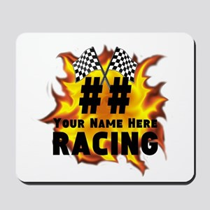 Flaming Racing Mousepad