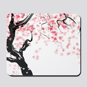 Japanese Cherry Tree Mousepad