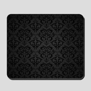 Elegant Black Mousepad