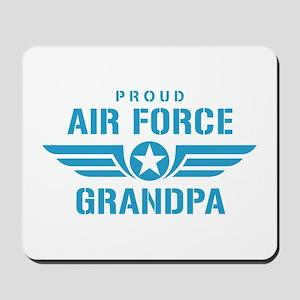 Proud Air Force Grandpa W Mousepad