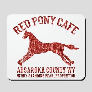 Longmire Red Pony Mousepad