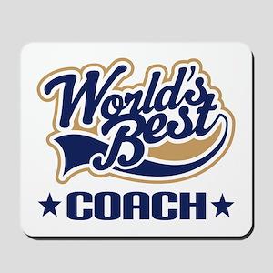 Worlds Best Coach Mousepad