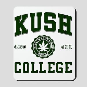 KUSH_COLLEGE_ Mousepad
