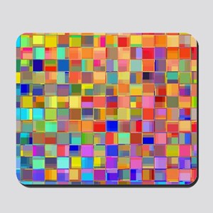 Color Mosaic Mousepad