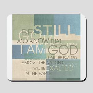 Psalm Scripture Collage Produ Mousepad