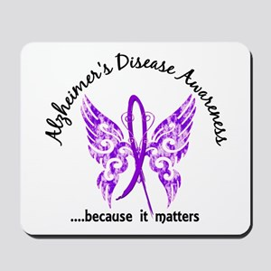 Alzheimer's Disease Butterfly 6.1 Mousepad