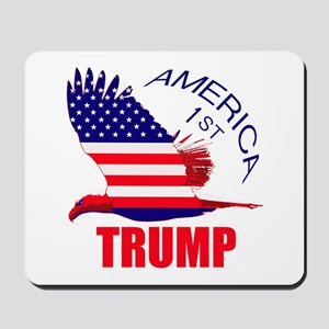 Trump America First Eagle Mousepad